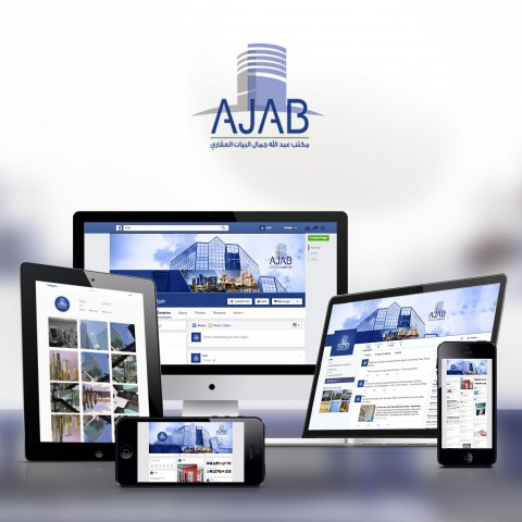 Successfully Finalize design & start manag the social media page for AJAB Real Estate