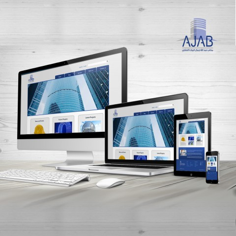 Website design & Develop for AJAB Real Estate. www.ajab.com.sa