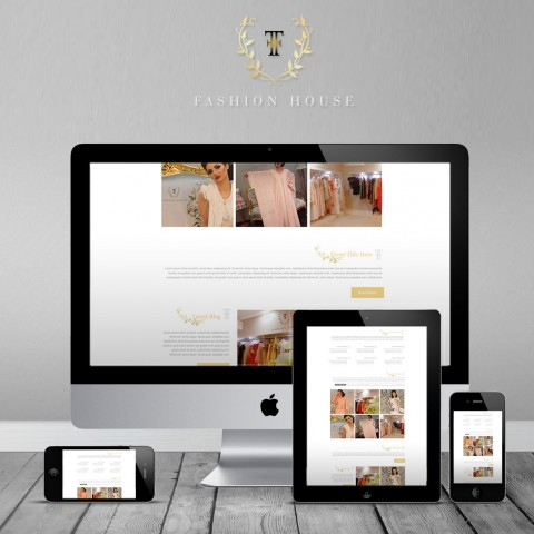 Successfully  finalize design & develop fashion house website