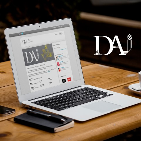 Successfully finalized Social Media as part of corporate identity for DAI consultancy
