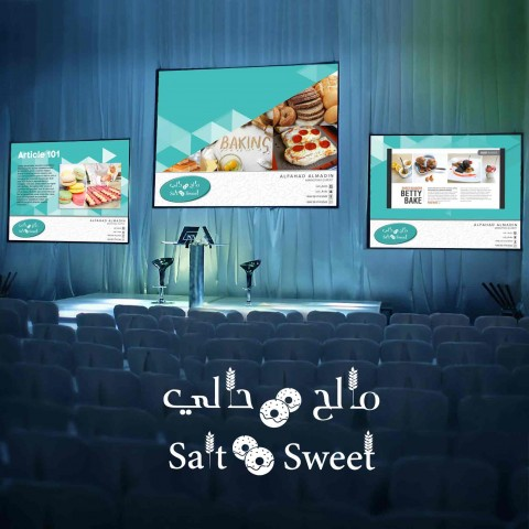 Successfully finalized PowerPoint design as part of Salt & Sweet corporate identity .