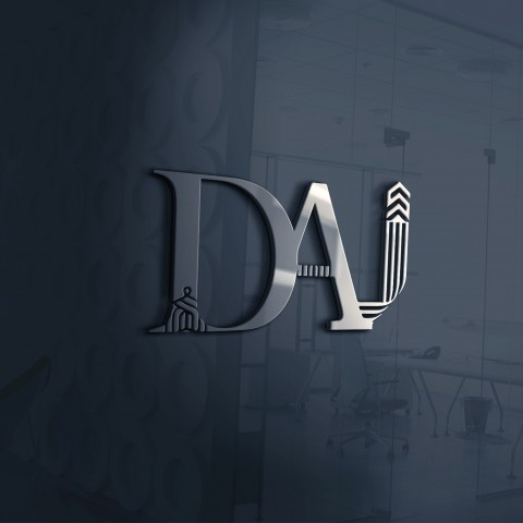 Successfully finalized Signboard design as part of corporate identity for DAI