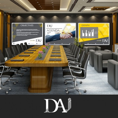 Successfully finalized PowerPoint design as part of corporate identity for DAI