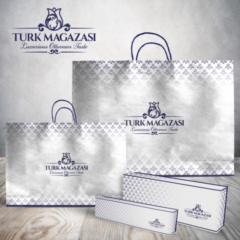Pay attention to product packaging is part of awareness your target about your brand….One of our work :Design boxes & bags for Turk Magazasi sweet.